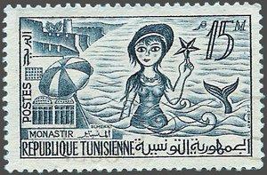 Timbres de Monastir  Tun480